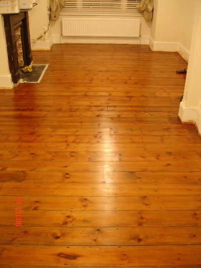 Amasing Transformation of wood floor