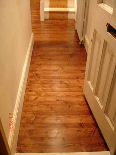 Wood Floor Sanding, Staining and Varnishing
