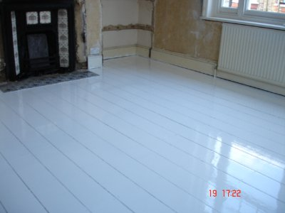Wood Floor finished with Osmo