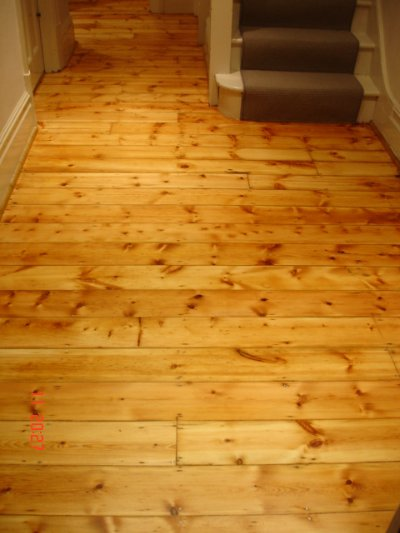 Oiled Wood Floors In Kitchen