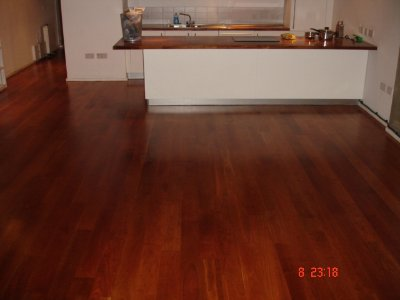 Walnut Floor Sanding