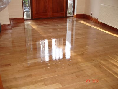 Cherry Floor Sanding and Varnishing