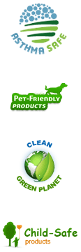Asthma Safe, Pet Friendly Prodycts, Clean Green Planet & Child-Safe Products
