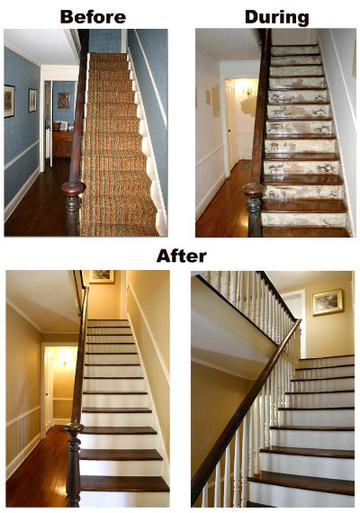 Prepare for the fitting of hardwood floors