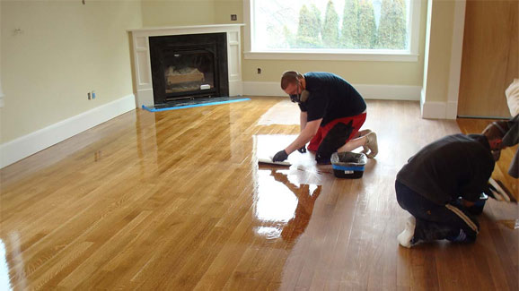 Preparing for a new wood floor installation