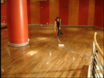 Sealing engineered hardwood flooring with Bona Traffic 2 component lacquer delivers outstanding protection.